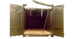 Open Top Containers - ISO shipping containers for sale and hire