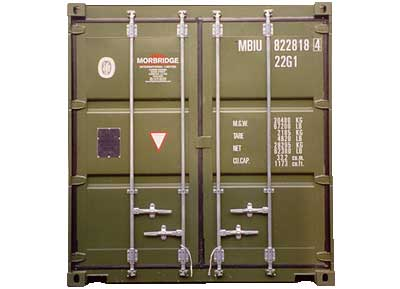 Morbridge - shipping container hire and shipping container sales